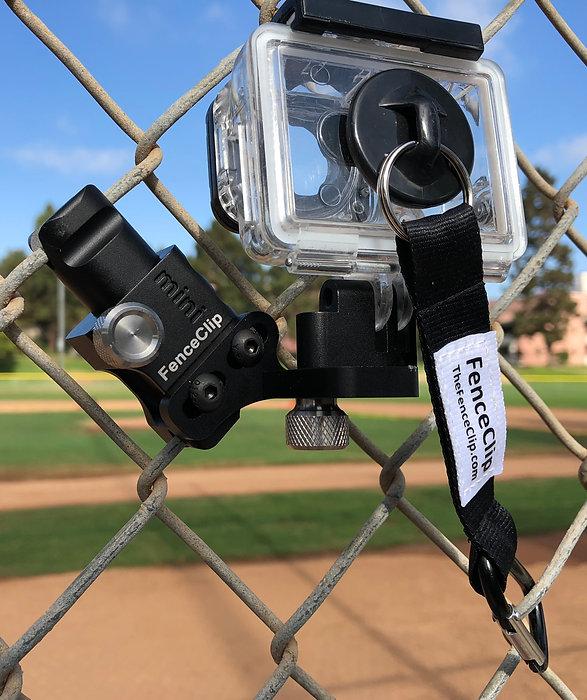 camera on fence