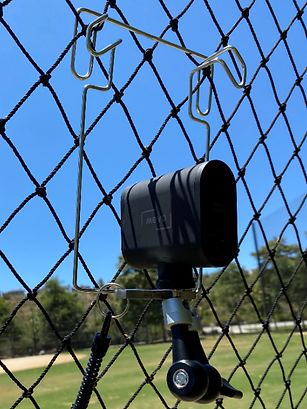 Mevo on NetCam for Streaming Softball