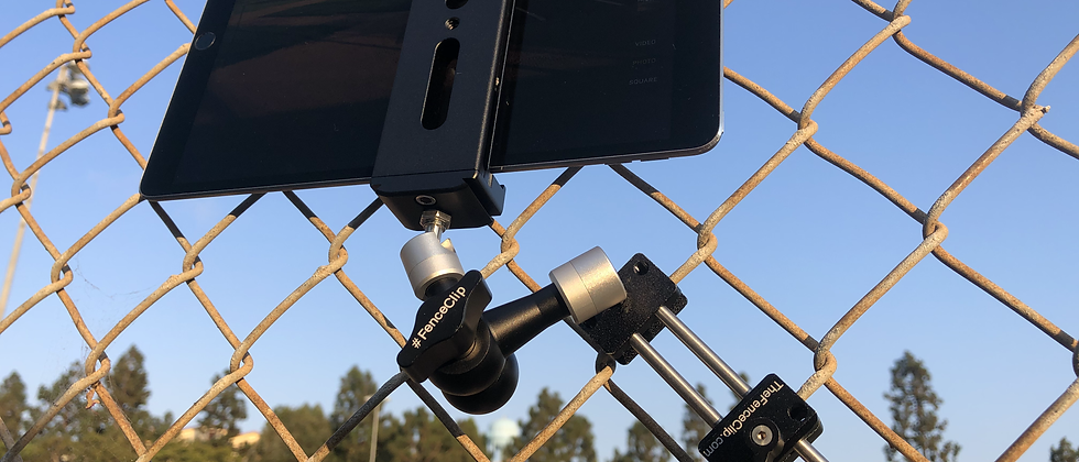 Tablet Fence Mount
