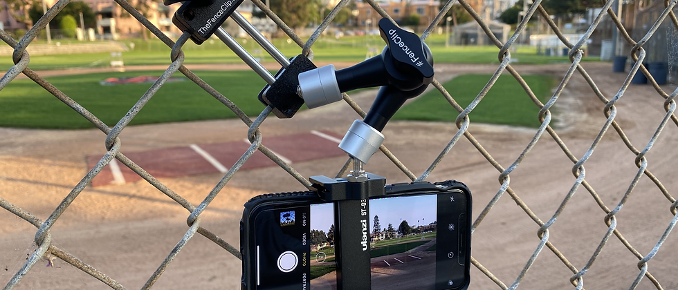 CellPhone Fence Mount
