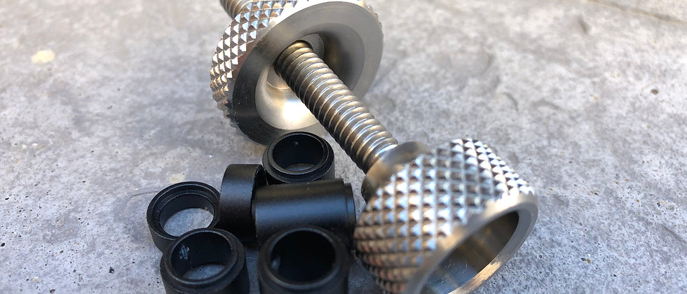 Big Dog 1/4-20 Screw, Nut, and Spacers