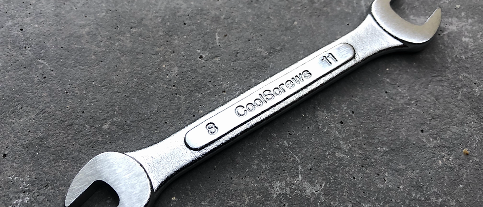 8mm/11mm Open End Wrench