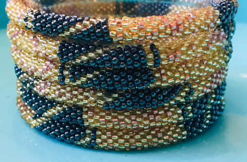 Handmade With Love In Nepal These Bracelets Roll On To Fit A 6 7 5 Wrist Wear One By Itself Or Stack Them Make Statement