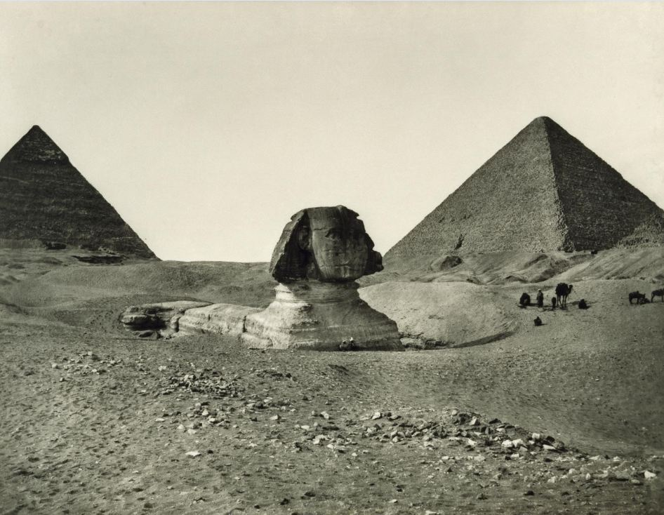 The enigma of the Sphinx