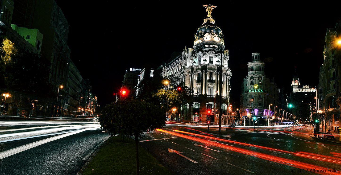 Night at Madrid