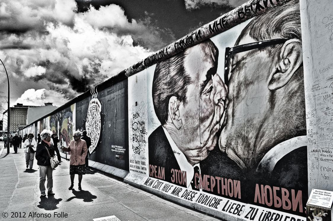 The kiss of Berlin