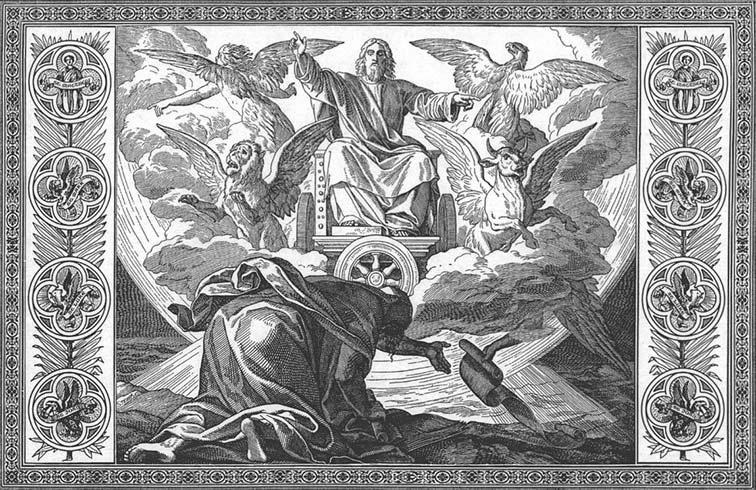 Ezekiel's vision of God