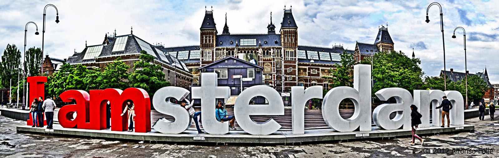 Amsterdam, city of freedom