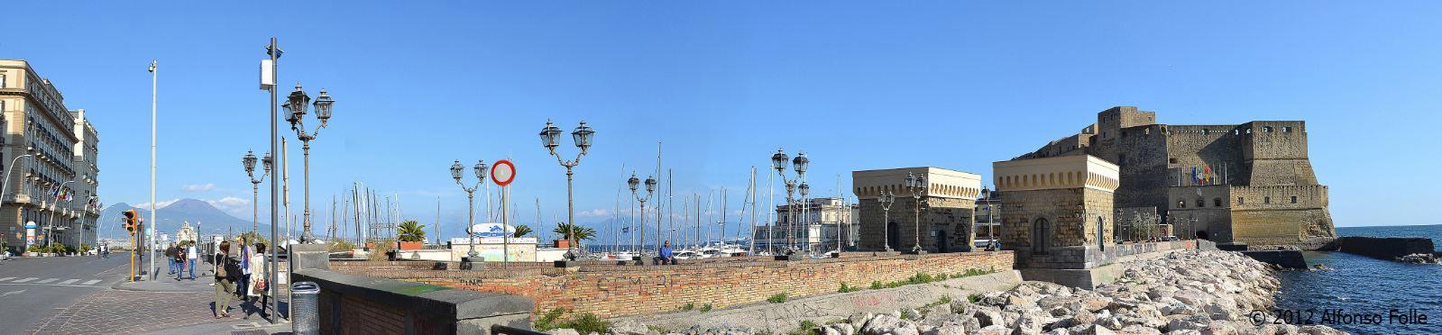 Via Caracciolo - Napoli