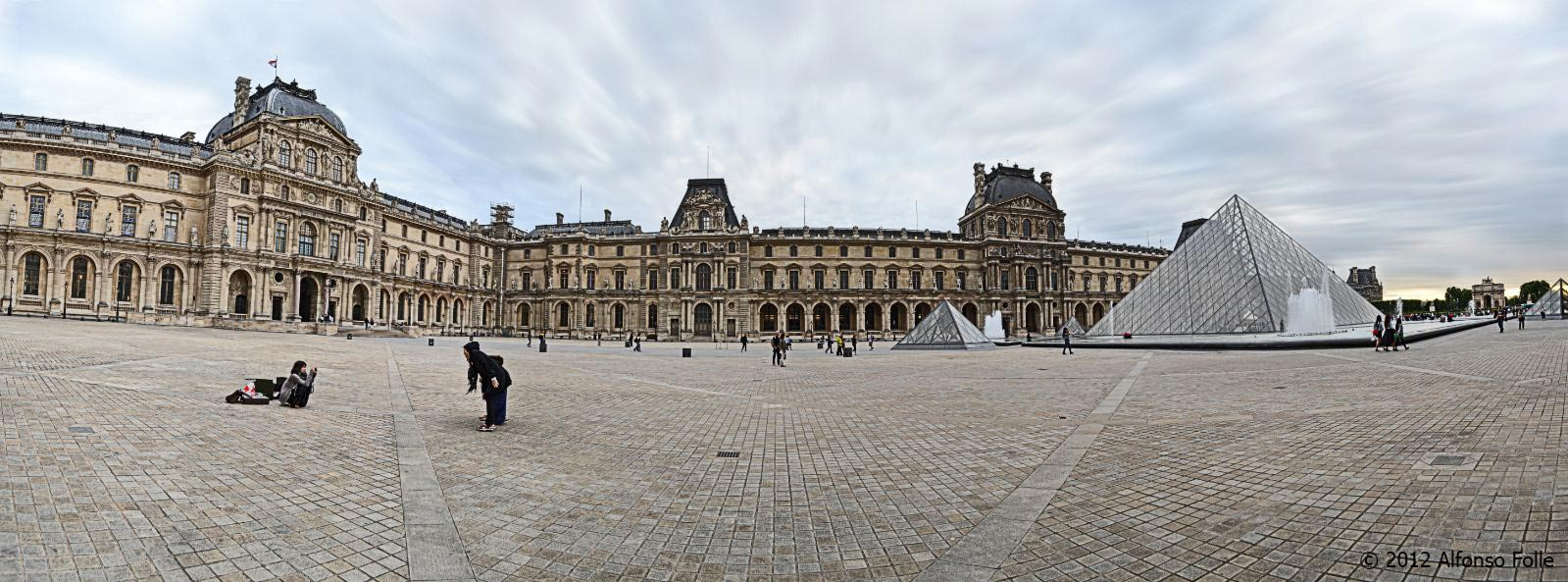 Panorama at the Louvre