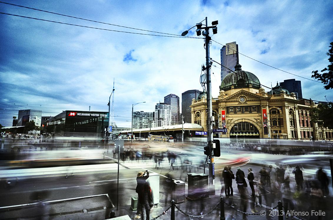 Day in the city - Melbourne