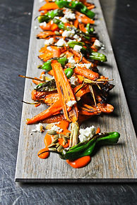 Seared Carrot, Harissa, Goat Cheese, Sashito Peppers 2.jpg
