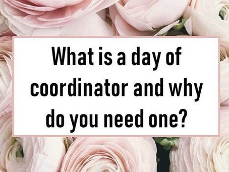 What is a Day of Coordinator and Why Do You Need One?
