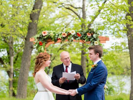 A Lovely Bright Spring Wedding