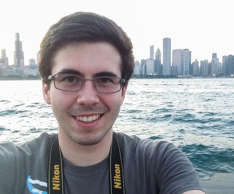Selfie with the skyline