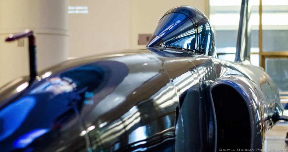 Record breaking jet engine car