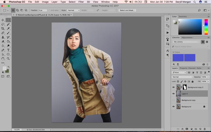 Create a Great Studio Backdrop in Photoshop!