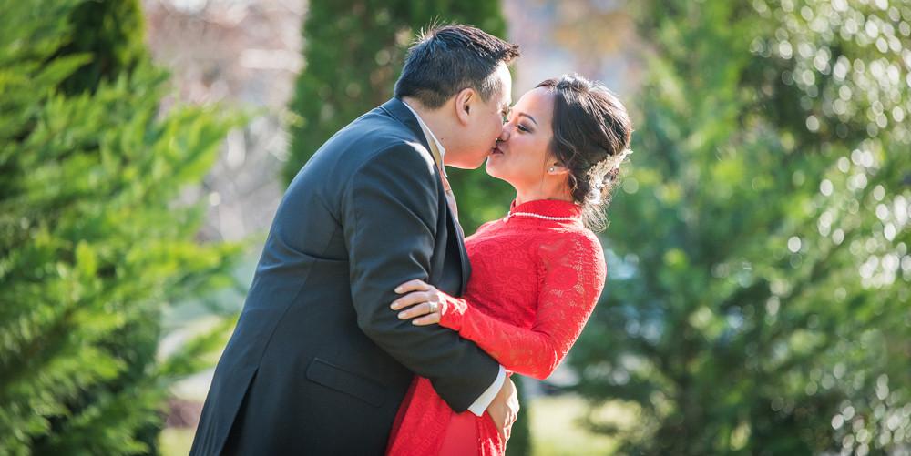 Mylinh and Michael - Daryll Morgan Photo