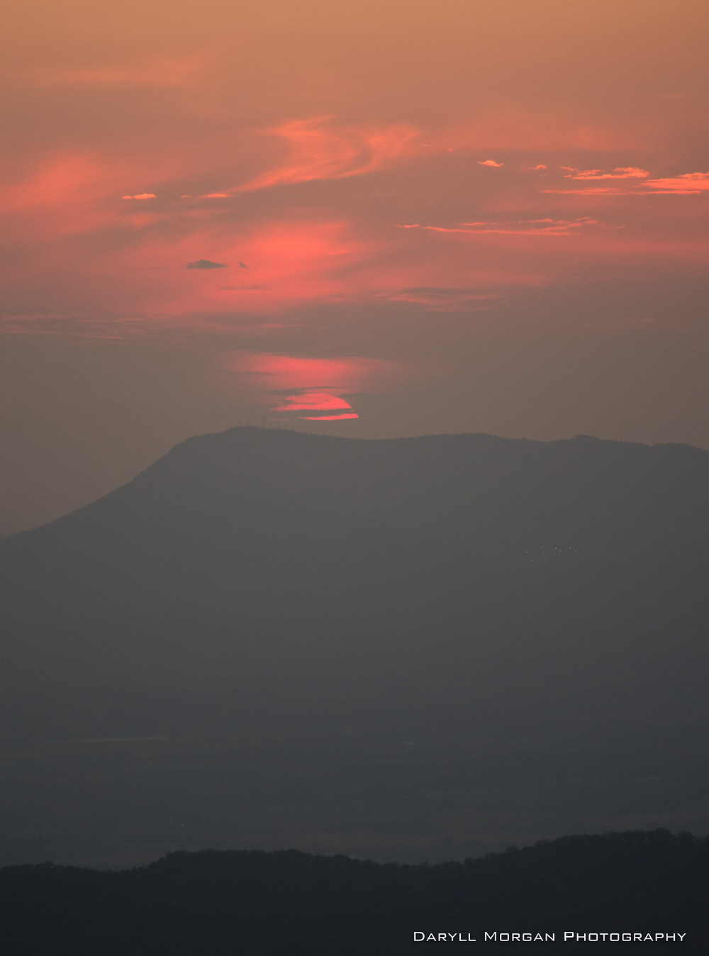 Red Sun at Dusk