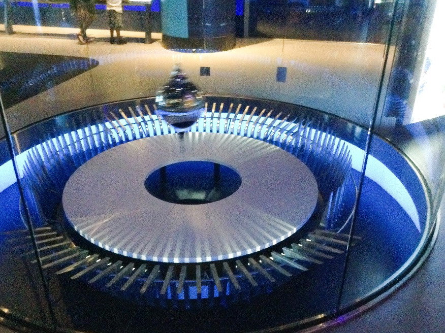 We have one of these at the VA science museum!