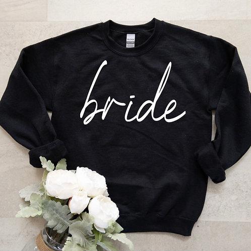 """Bride"" Sweater (Black)"
