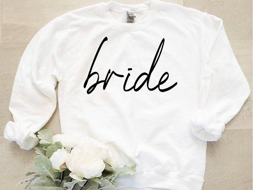 """""""Bride"""" Sweater (White)"""