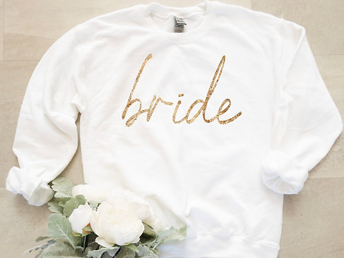 """Bride"" Sweater (Gold)"