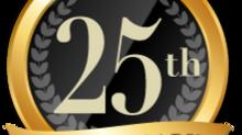 25周年の感謝