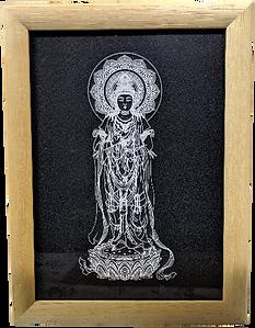 観音菩薩彫刻