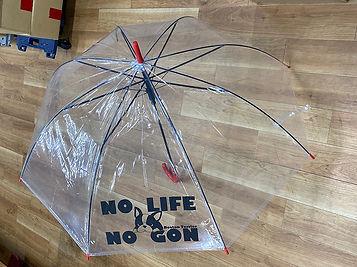 オリジナルビニール傘印刷