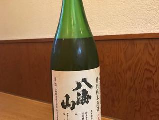 今月のお酒!|特別純米原酒生詰  一年熟成「八海山」