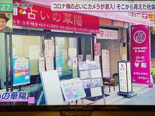 テレビ放送「ミント」出ました!