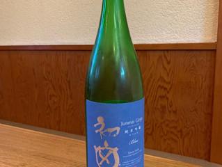 今月のお酒!|純米吟醸  BLUE「初亀」