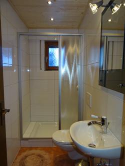 Separate Dusche/WC