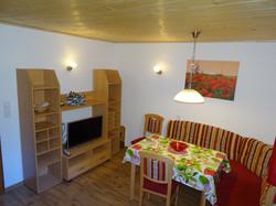 Küche mit TV
