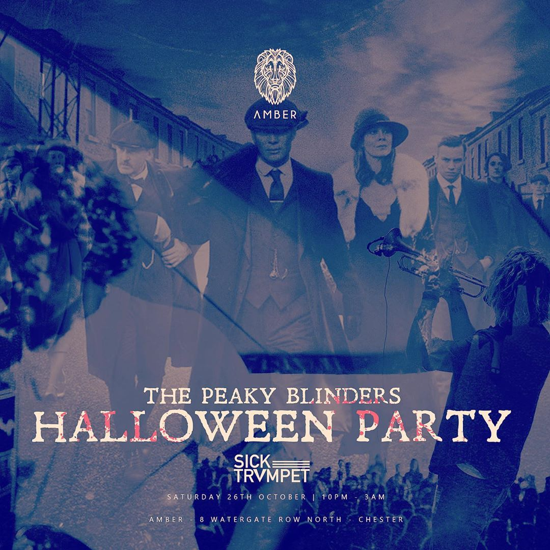 Peaky Blinders Halloween Party