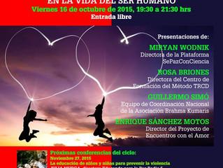 WFWP Spain round table conference ASOCIACIÓN DE MUJERES POR LA PAZ MUNDIAL