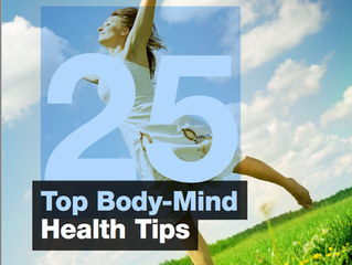 Tips to achieve greater health in mind and body from a holistic viewpoint