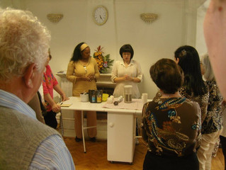 WFWP Portugal, Food Health and Peace