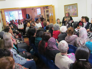 WFWP Women's Peace Meeting.