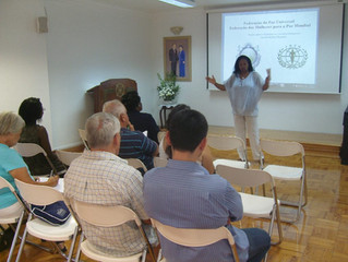 "WFWP Portugal:  ""Concepts of Diplomacy"""