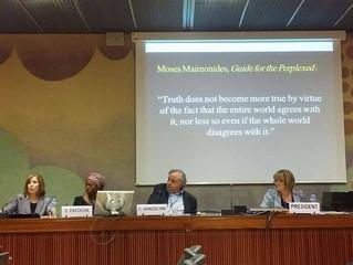 """""""Preventing the Sexualization of Children"""" UN Conference Geneva"""
