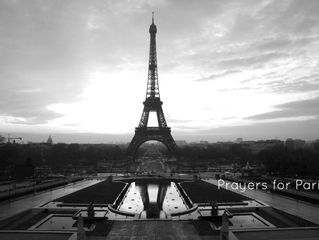 Our prayers are with those effected by the attacks in Paris