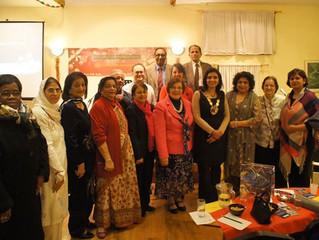 WFWP S.London/UK,Christmas Celebration with Mayor