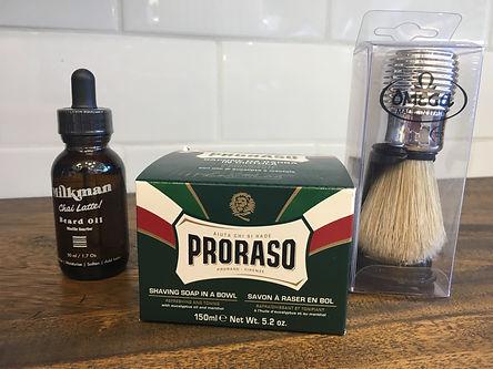 beard oil balm