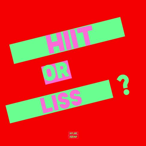 Team Cardi O: HIIT ou LISS?