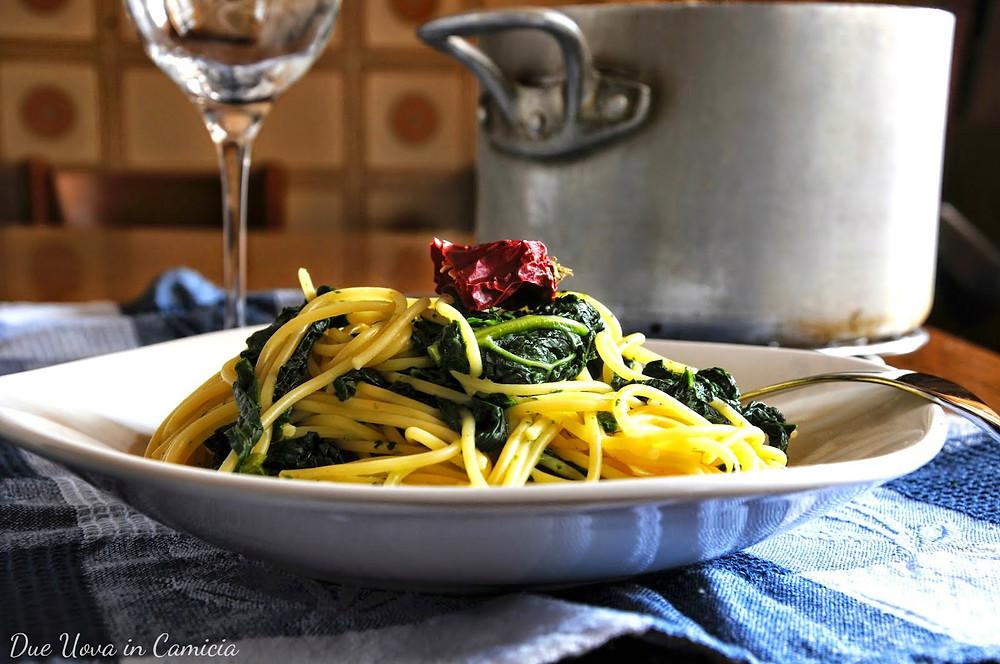 Spaghetti con Cavolo Nero