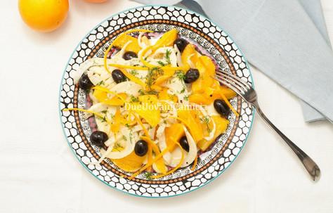 Insalata Siciliana con Arance, Finocchi e Olive