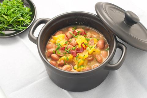 Zuppa di Fagioli e Zucca