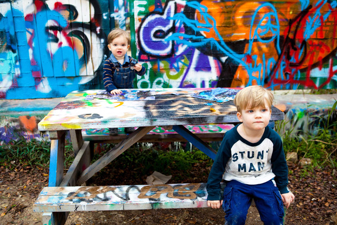 COLIN + ROWAN - GRAFFITI PARK
